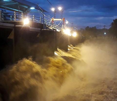 Hujan Deras, Bendung Katulampa Siaga III