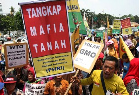 'Demi Tanah, Kami Bertaruh Nyawa'