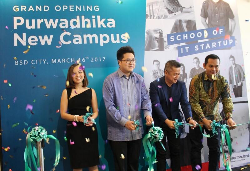 Peresmian peluncuran Purwadhika di BSD City.