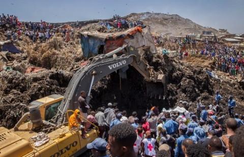 Longsor di TPA Ethiopia, 113 Orang Tewas