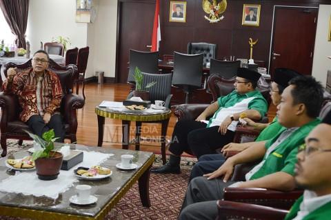 GP Ansor Temui Ketua MPR Bahas Kebinekaan Indonesia