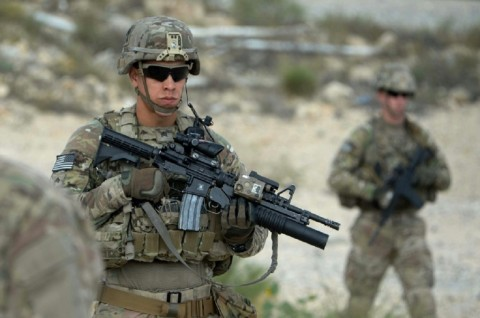 Tiga Prajurit AS Ditembak Tentara Afghanistan di Markas NATO