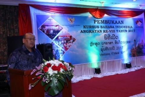 Kursus Bahasa Indonesia Dibuka di Laos