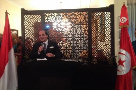 Antusiasme Dubes Belhassen Jelang Bali Democracy Forum Chapter Tunisia