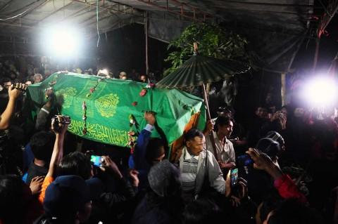 Patmi, Aktivis Pegunungan Kendeng Dimakamkan