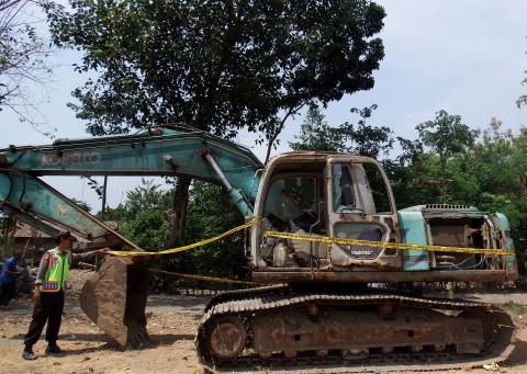 Hasil Tambang Ilegal Disetor ke BUMN Konstruksi