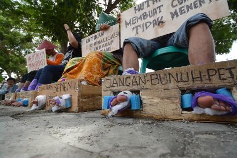 Aktivis di Palu Gelar Aksi Solidaritas untuk Patmi