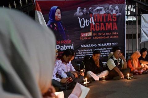 Aktivis Gelar Doa Bersama untuk Ibu Patmi