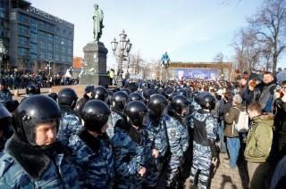 AS Kecam Perlakuan Rusia terhadap Demonstran Antipemerintah