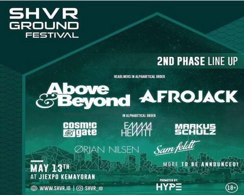 Afrojack dan Ørjan Nilsen Jadi Penampil Baru di SHVR Ground Festival Jakarta