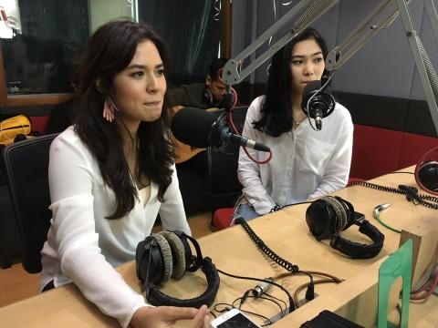 Raisa dan Isyana Sarasvati Bertukar Lagu di Ultah iRadio