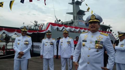 TNI Tambah 2 kapal Perang di Selat Malaka