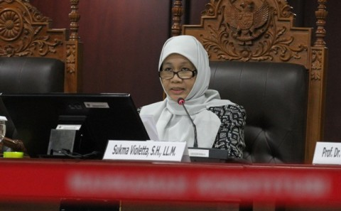 Pansel Tetapkan Tiga Nama Calon Hakim Konstitusi