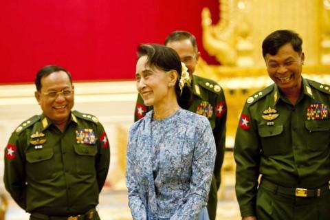 Pemerintahan Suu Kyi Hadapi Tes Pertama di Pemilu Myanmar