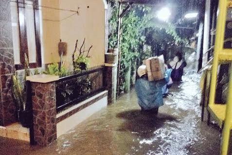 Cipinang Melayu dan Cibubur Terendam Banjir