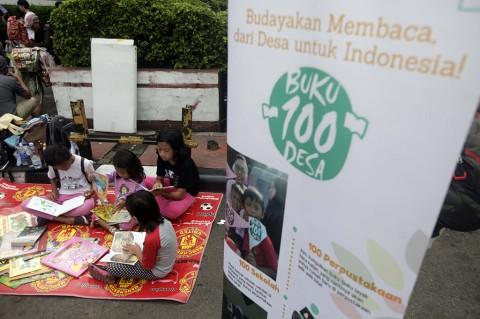 Aksi Pengumpulan Buku Bekas untuk 100 Desa Terpelosok