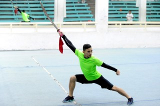 Empat Atlet Wushu Jajal Kemampuan di Iran