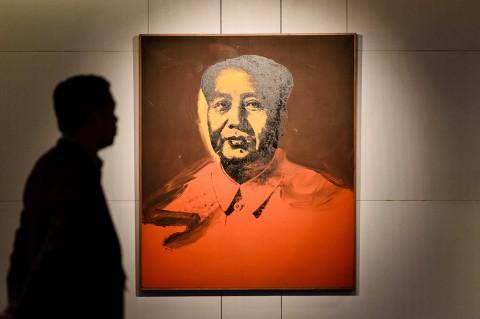 Lukisan Mao Zedong Laku Terjual Rp167 Miliar