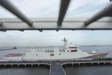 KRI RE Martadinata-331 Siap Jaga Indonesia Timur