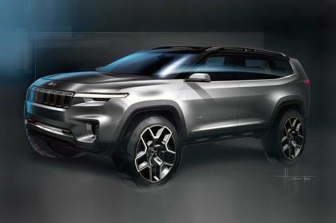 Jeep Yuntu Concept Tawarkan Konfigurasi 7-Seater