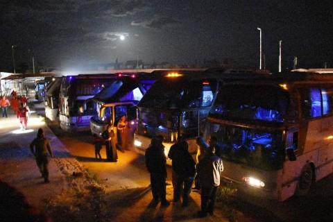 7.000 Warga Suriah Dievakuasi dari Kota yang Terjebak Pertempuran