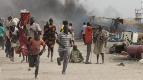 Jutaan Penduduk Sudan Selatan Mengungsi Selama Perang