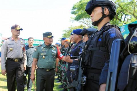 1.678 Personel TNI/Polri Amankan Paskah Nasional