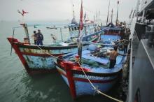 Polair Polda Kepri Tangkap 8 Kapal Nelayan Asing