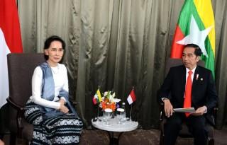 Temui Aung Sang Suu Kyi, Presiden Bahas Perkembangan Isu Rakhine