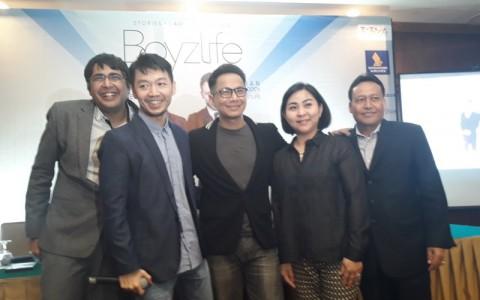 Delon Jadi Penyanyi Pembuka Konser Boyzlife di Jakarta