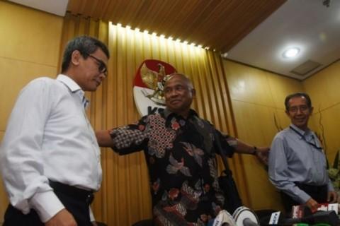 Ruki & Johan Budi Sowan ke Markas KPK