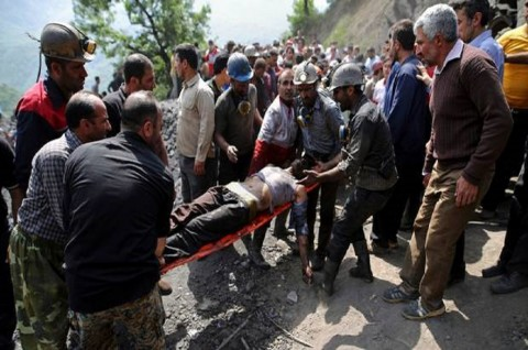 Korban Tewas Ledakan di Tambang Iran Jadi 35 Orang