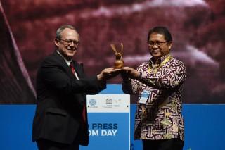 Menkominfo Tutup Perayaan Hari Kebebasan Pers Dunia