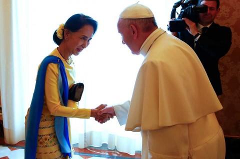 Vatikan dan Myanmar Jalin Hubungan Diplomatik