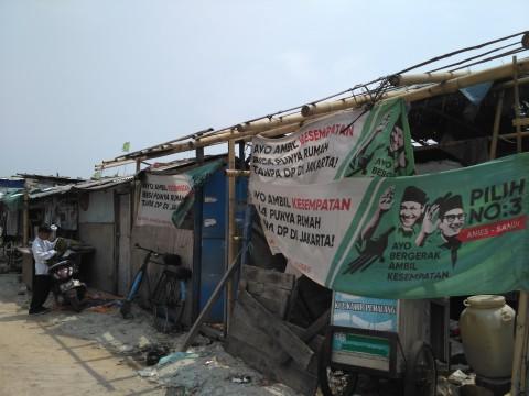 Warga Kampung Akuarium tak Akan Pergi Sebelum Ada Ganti Rugi