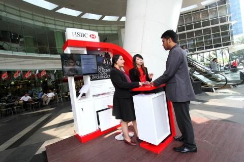 Merger, HSBC Incar Proyek Pemerintah