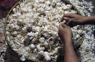 Harga Bawang Putih di Manado Capai Rp60 Ribu per Kilogram