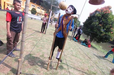 Kemeriahan Festival Mainan Tradisional di Bogor
