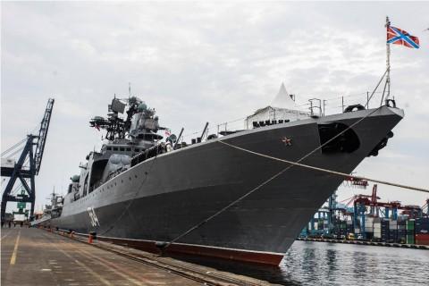 Warga Jakarta Diundang Naik Kapal Perang Rusia