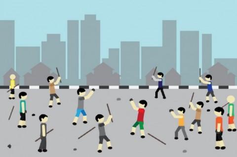 Hendak Perang Sarung, 19 Remaja Ditangkap