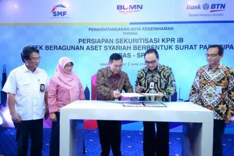 BTN Syariah-SMF Kolaborasi Terbitkan EBAS-SP KPR iB