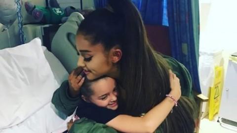 Ariana Grande Beri Kejutan untuk Korban Serangan Manchester