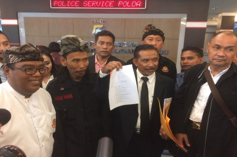Rizieq Shihab Dilaporkan ke Polda Bali