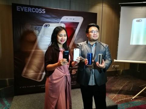 Winner Y Star, Cara Evercoss Tawarkan Desain Premium di Harga Rp1,3 Juta
