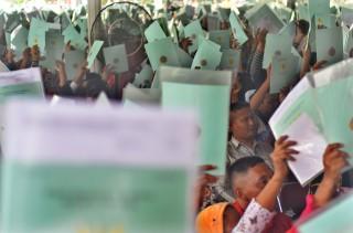 Jokowi Optimistis Program Reformasi Agraria Segera Berhasil