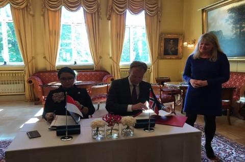 RI-Norwegia Sepakati Bebas Visa untuk Paspor Diplomatik dan Dinas