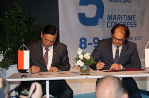 Indonesia Undang Perusahaan Polandia Investasi di Bidang Maritim