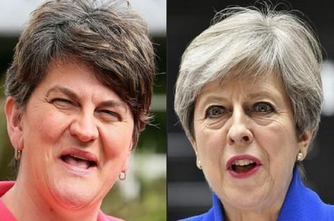 Gagal Raih Mayoritas, Konservatif Inggris akan Gandeng DUP