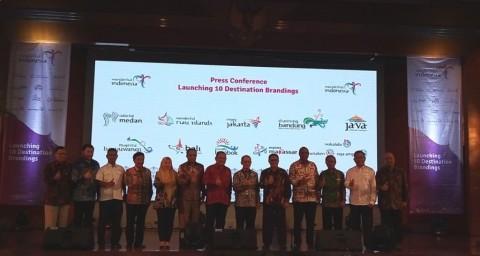 Kementerian Pariwisata Launching Branding Baru 10 Destinasi Pariwisata