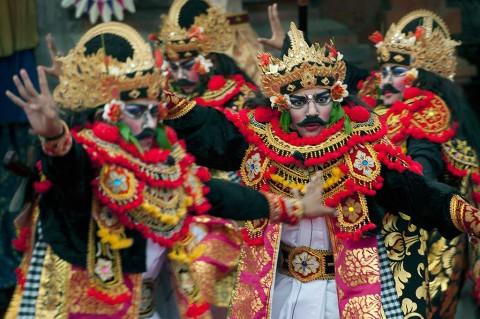 Pementasan Tari Gambuh di Pesta Kesenian Bali